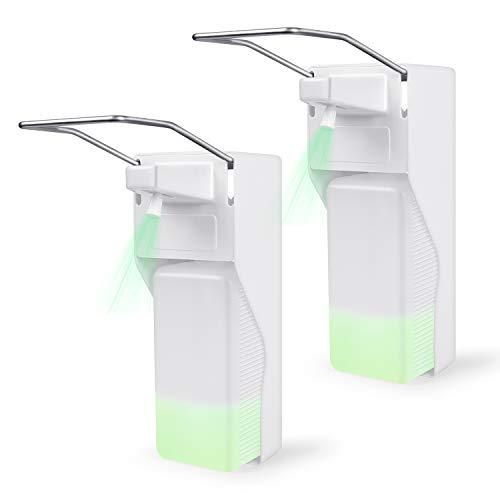 kejun 2 St. Eurospender Wandspender Seifenspender Desinfektionsspender Desinfektionsmittelspender Disinfectant Dispenser Soap Dispenser 1000 ML