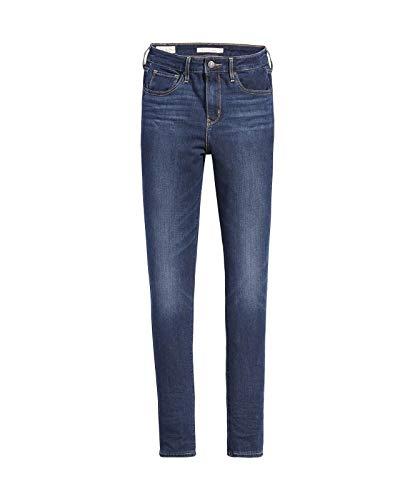 Levis 721 High Rise Skinny Damen Jeans, Farbe:Blau, Größen:27W / 30L