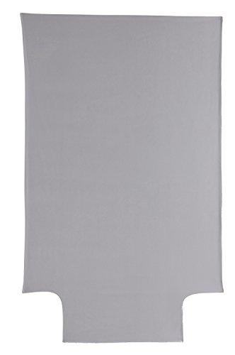 P'tit Basile - housse de couette bébé Coton Bio - 100x140 cm - Coloris Taupe - été ou hiver - Coton certifié Oekotex et Gots de qualité supérieure, Tissage serré pour plus de douceur