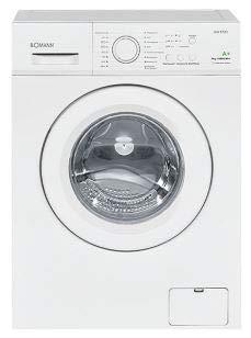 Bomann WA 5721 Waschmaschine / EEK A+ / 173 kWh/Jahr / 1.000 UpM / 6 kg / 8 Waschprogramme + Zusatzoption / weiß