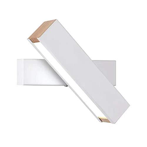 Moderno Apliques De Pared LED Lámpara De Pared, Creativo Vendimia Luz De Pared Con Tiras De Luces LED, Para Dormitorio Lectura Cabecero
