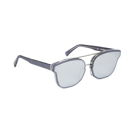 Retrosuperfuture - Gafas de sol - para hombre COLORE MONTATURA ARGENTO TRASPARENTE