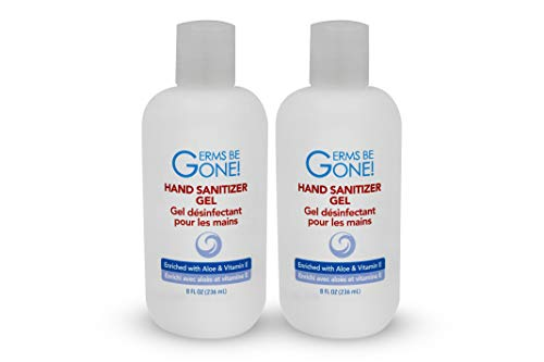 Just for Laughs Germs be Gone Hand Sanitizer Gel, 2 Pack (8...