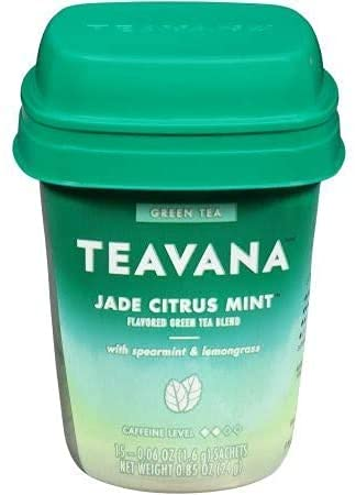 Teavana Jade Citrus Mint Flavored Green Tea Blend, 0.06 Ounce Sachets (15 Sachets Total)
