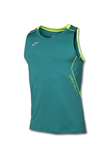 Joma Olimpia T-Shirt pour Homme, Vert, Taille S/M