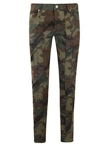 Balmain Luxury Fashion TH15377Z0717UA groene jeans | Lente zomer 20