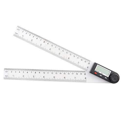 stronerliou Digital Goniometro Angolo Righello Finder Meter Display Digitale Goniometro in plastica ZX PD290