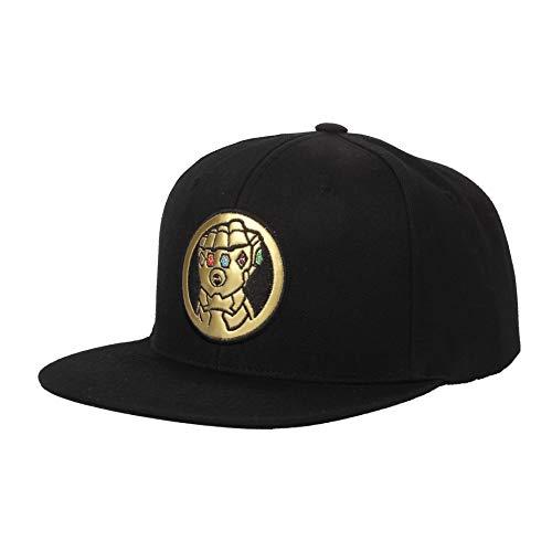 WIM Gorras de béisbol Gorra de Trucker Sombrero de Marvel Baseball Cap Thor Mjolnir Hammer Snapback Hat HL21069