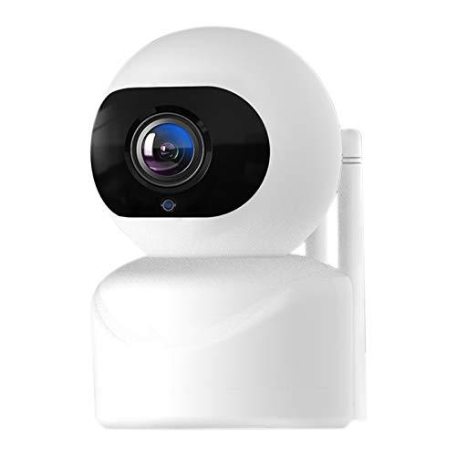 Kaxofang CáMara de Seguridad Interior 1080P CáMara WiFi Sistema de Vigilancia del Hogar DeteccióN de Movimiento Monitor de Bebé Tour de 360 ° Enchufe de la UE