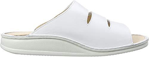 Finn Comfort Unisex-Erwachsene Korfu Sandalen, Weiß (Weiß), 42 EU