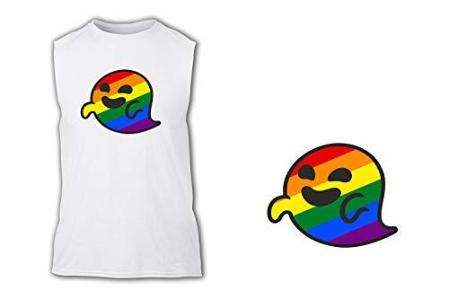 Camiseta SIN Mangas GAYSPER Fantasma Gay VOX Tshirt