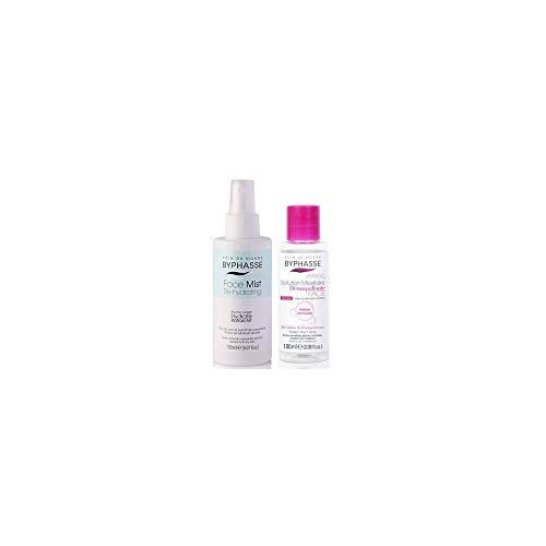 BYPHASSE - Brume visage et Solution Micellaire - FACE Mist Re-hydrating Peaux Sensibles - 150+100ml