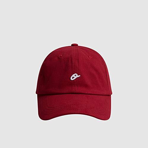 Sksngf Baseballmütze, weiche Cap Baseballmütze, Trendy beiläufige Art und Weise Kappe, einfache Schatten Hut, Sport im Freien Gebrauch, mit veränderbarer Länge, Knitterschutz, nicht leicht zu deformie