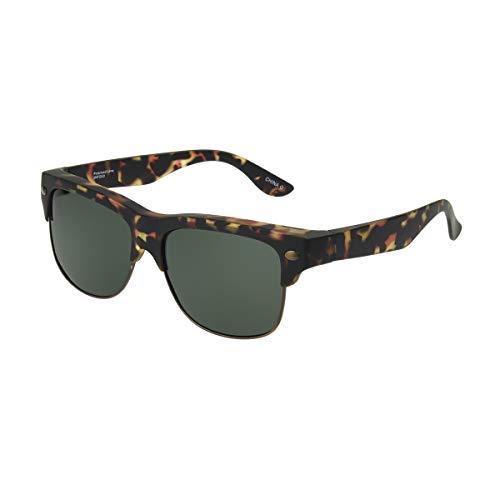 Dioptics Solar Shield-Fairfax Polarized Square Fits Over Sunglasses, Tortoise, 57 mm