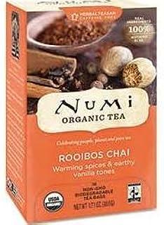 Numi Rooibos Chai Tea 100 Individual Sealed Bags