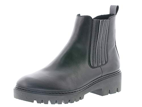 Rieker Damen Stiefeletten 71453, Frauen Chelsea Boots, Women Woman Freizeit leger Stiefel halbstiefel Bootie Damen,schwarz,41 EU / 7.5 UK