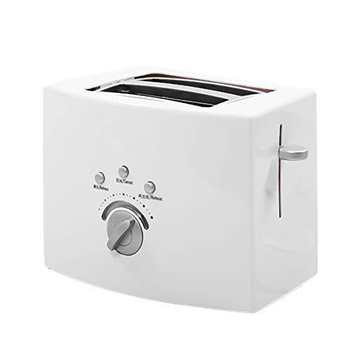 Tostadora tiene la función de descongelar, cancelar y recalentar, Máquina de pan es adecuada para todo tipo de pan, Tostadora automática para el hogar se puede hornear de manera rápida y uniforme
