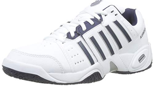 K-Swiss Performance KS Tfw Accomplish III Omni, Zapatillas de Tenis Hombre, Blanco (White/Navy 37), 39.5 EU