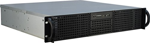 Inter-Tech 88887103 Case IPC Server 2U-20240 (40cm), o.PSU