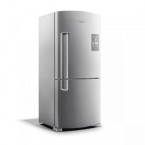 Geladeira Brastemp Frost Free Inverse 573 litros cor Inox com Smart Bar 220V