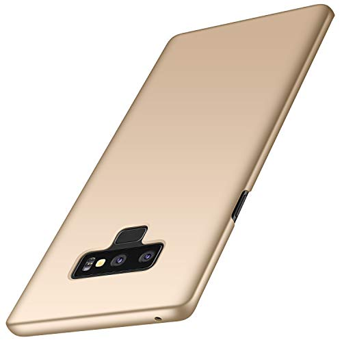 Anccer Compatible for Samsung Galaxy Note 9 Case [Colorful Series] [Ultra-Thin] [Anti-Drop] Premium Material Slim Full Protection Cover for Samsung Galaxy Note9 (Smooth Gold)