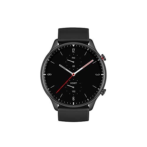 Amazfit GTR 2 Smartwatch Fitness Armbanduhr mit Bluetooth-Anruf, Sportuhr mit 90 Sportmodi, Blutsauerstoffsättigungsmesser, 3GB Musikspeicher
