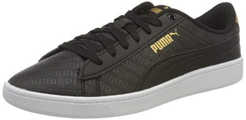 PUMA Vikky V2 Sig, Zapatillas Mujer, Blanco White/Gold Black, 42 EU