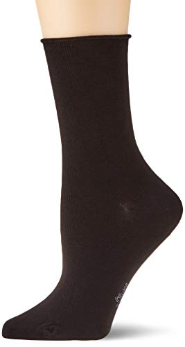s.Oliver Damen Socken 2-er Pack, S20135, Gr. 39-42, Schwarz (05 black)