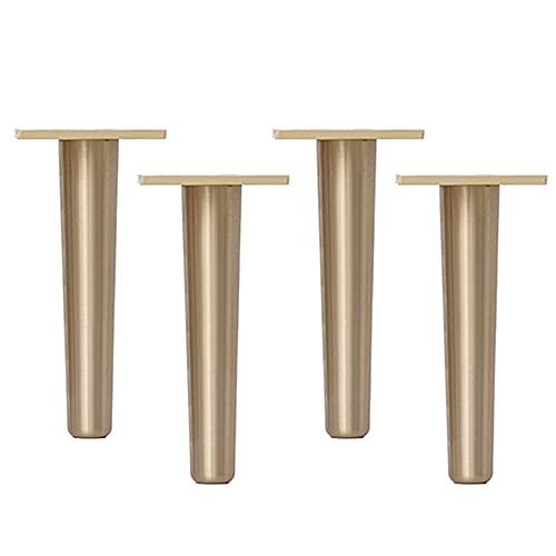 Patas de gabinete de latón Patas de soporte para muebles Alta dureza Con tornillos Resistencia a altas temperaturas Adecuado para muebles de cuatro piezas como sofás de aparador