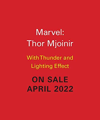Marvel: Thor Mjolnir: With Thunder and Lightning Effect (RP Minis)