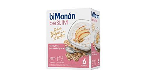 BiManán beSLIM - Crema Sustitutiva Sabor Yogur con Cereales, para