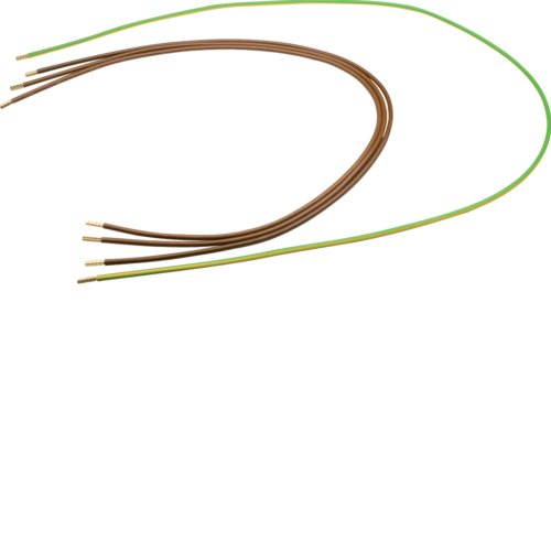 Hager Y89R afvoerkabelboom 4-pol.10qmm stiftkabelschoen in verdeler