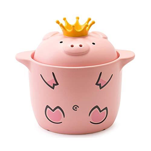 Crock Pot Casserole Claypot Reis Suppe Suppentopf Hitzebeständige Haushalt Keramik ( Size : 6L )