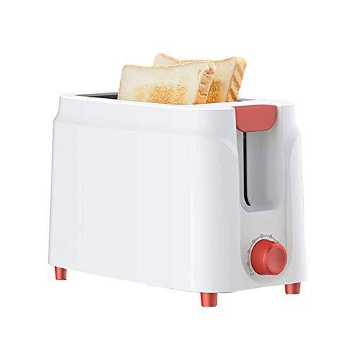 RANRANJJ Slice Toaster, compactos Pan Tostadores Extra Anchas Ranuras, Hornear Máquina del Desayuno, con un Solo botón de Control, Seguro y Saludable