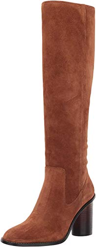 COACH Ombre Heel Boot - Suede Saddle 5.5