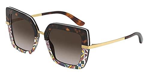 Dolce & Gabbana Occhiale da sole 4373 Colore 327813 Havana Multicolor 52-21