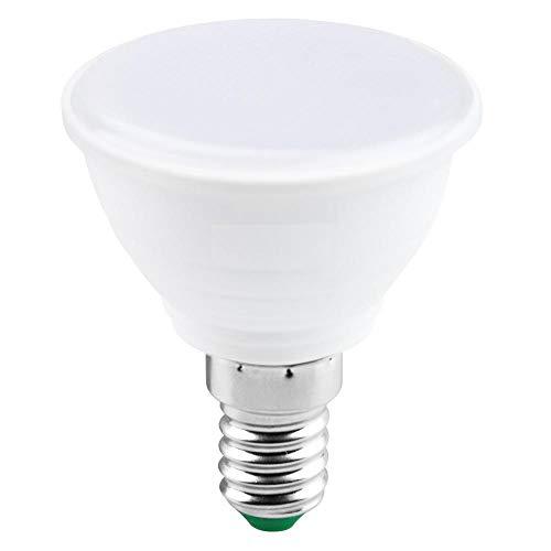 6PCS E27 Foco LED Bombilla LED 5W E14 Lámpara LED 220V Foco 7W Bombilla de luz-E14 Lechoso_5W (blanco cálido)