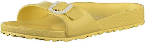 BIRKENSTOCK Madrid Eva Damen Pantoletten Soft Yellow, EU 37