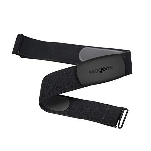 Magene H64 Herzfrequenzmesser Brustgurt Fitness Tracker IP67 Wasserdicht Unterstützung Bluetooth 4.0 und ANT +, iPhone & Android Kompatibel