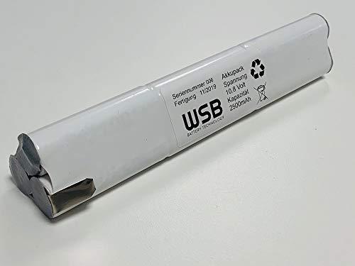 Accu vervangende compatibel Velux zonneramen, dakramen & rolluiken 10,8 V 2500 mAh NiMH