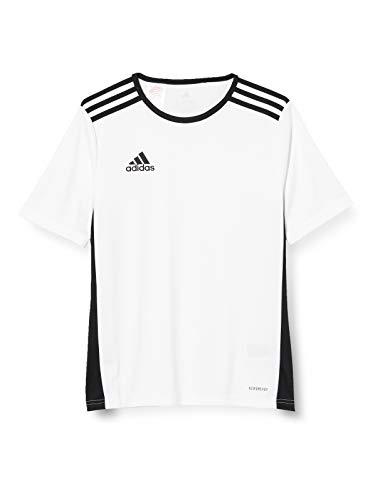 adidas Entrada 18, Maglia Unisex Bambini, White/Black, XS