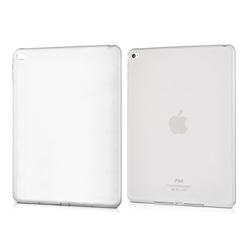 kwmobile Funda Compatible con Apple iPad Air 2 - Carcasa para Tablet de Silicona TPU - Cover en Transparente Mate