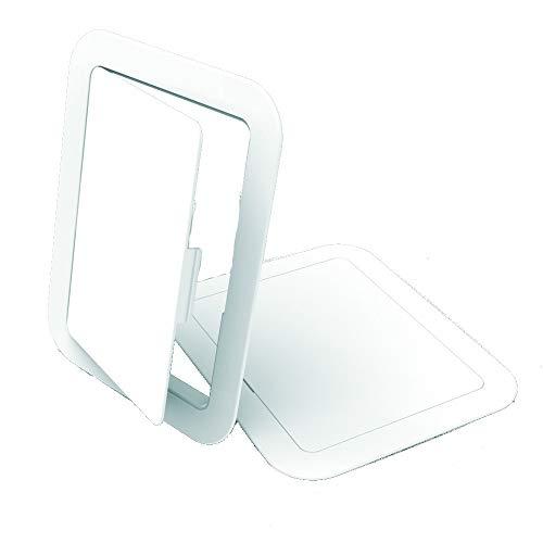 Manthorpe GL50 Panel de acceso Inspección Hatch Blanco 100 mm x 150 mm Cajas de fusibles, interruptores, controles, pollas de parada, válvulas, 10 x 15cm