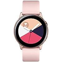 "Samsung Galaxy Watch Active Reloj Inteligente Oro Rosa SAMOLED 2,79 cm (1.1"") GPS (satélite) - Relojes Inteligentes (2,79 cm (1.1""), SAMOLED, Pantalla táctil, GPS (satélite), 25 g, Oro Rosa)"