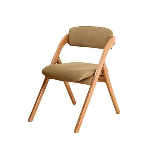 BTPDIAN Eenvoudige moderne home opvouwbare wasbare eetkamerstoel rugleuning tuinstoel lounge stoel Kantoorstoel