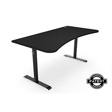 Arozzi Arena Gaming Desk, Pure Black