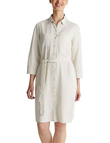 ESPRIT Damen 030EE1E310 Kleid, 285/SAND, 36