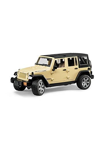 BRUDER SPIELWAR JEEP Wrangler Unlimited Rubicon 4001702025250