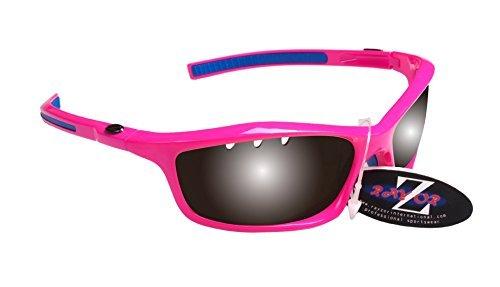 RayZor Gafas de sol deportivas ligeras para correr, antirreflejos, para hombres y mujeres, profesionales, protección de ojos UV400 con marcos inastillables y lentes antideslumbrantes Cat 3
