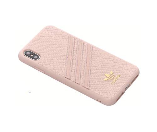 adidas Moulded Snake Funda para teléfono móvil 16,5 cm (6.5') Rosa - Fundas para teléfonos móviles (Funda, Apple, iPhone XS MAX, 16,5 cm (6.5'), Rosa)